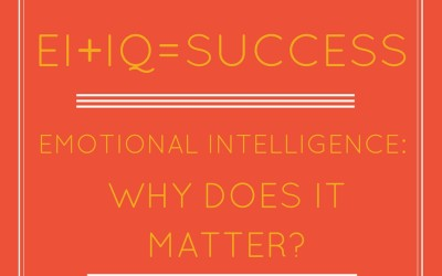 Emotional Intelligence: Why Does it Matter?
