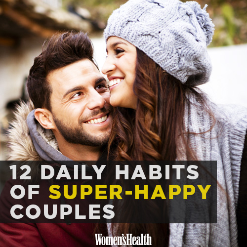 12 Daily Habits of Super Happy Couples